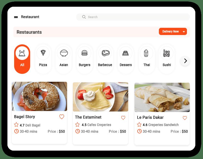 restaurant app development company