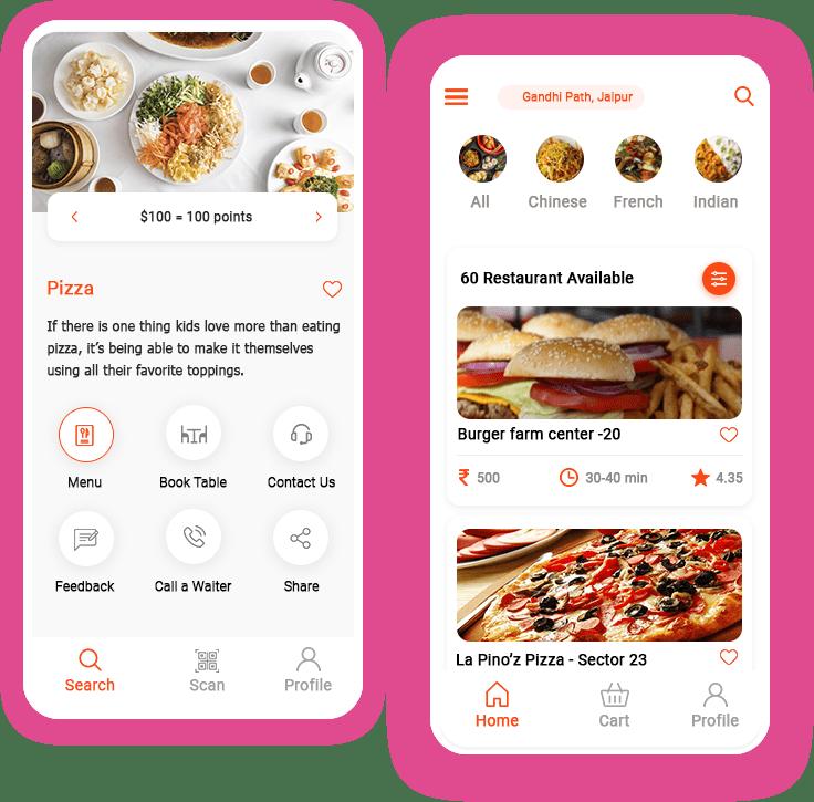 restaurant ordering app development comapny