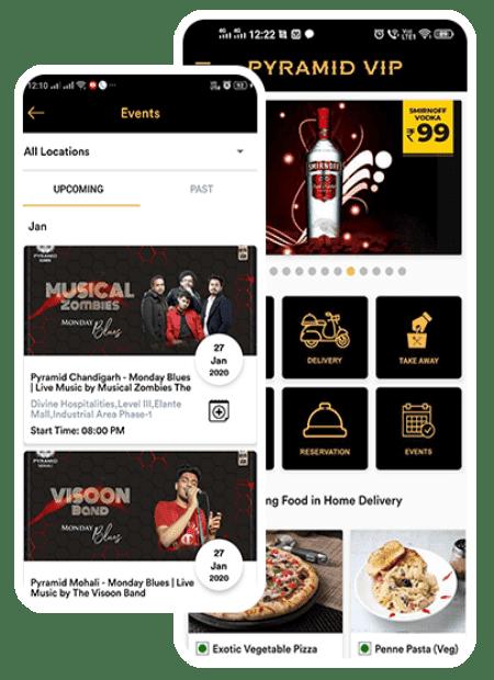 pyramid mobile app